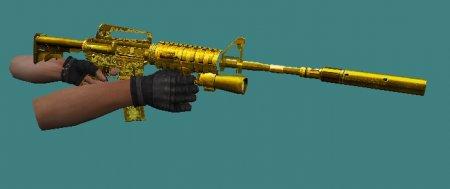 [CS 1.6] Native Gun - M4A1 GOLD