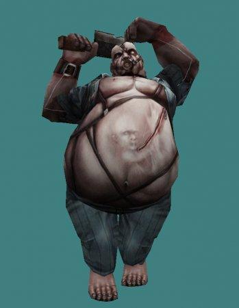 [CS 1.6] Zombie Class - Heavy (Толстяк) + Hud