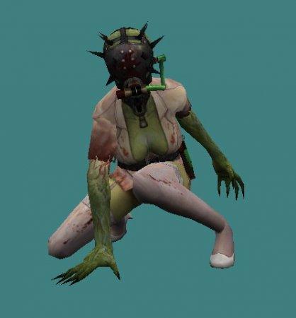 [CS 1.6] Zombie Class - Sting Finger + Hud