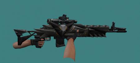 [CS 1.6] - Модель M14 Crow