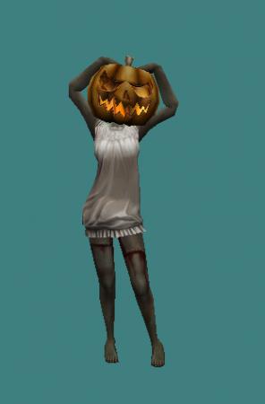 [CS 1.6] - Модель зомби «Ghost Hallowen»