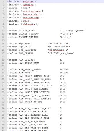 [CS 1.6] Addon - BuySystem by Bos93