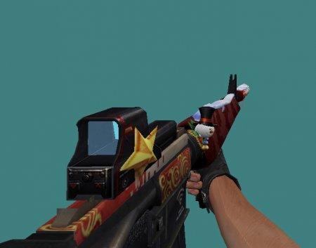 [CS 1.6] Модель - M16A1 XMAS