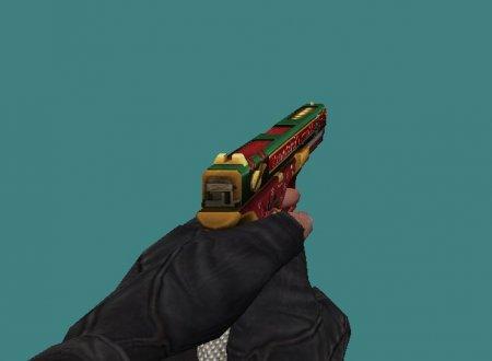 [CS 1.6] Модель - Glock18 XMAS