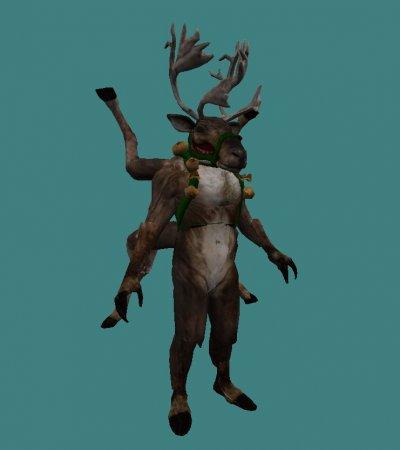 [CS 1.6] Модель - Deer XMAS