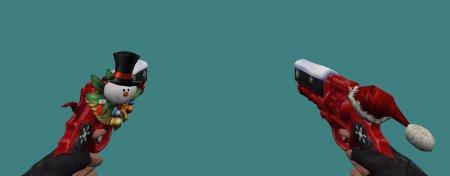 [CS 1.6] Модель - Dual Skull-1 XMAS