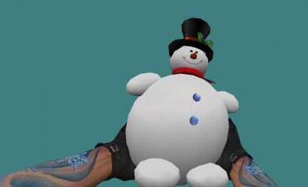[CS 1.6] Модель - Snowman bomb XMAS