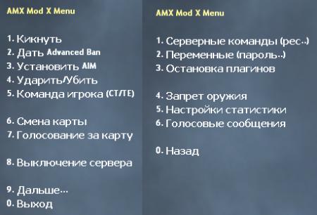 [CS 1.6] Addon - AmxModMenu